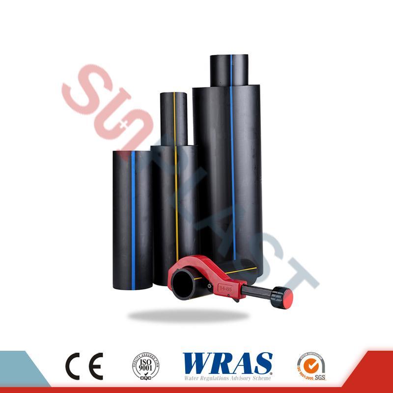 HDPE Pipe (Poly Pipe) для канализации и водоснабжения Дренаж