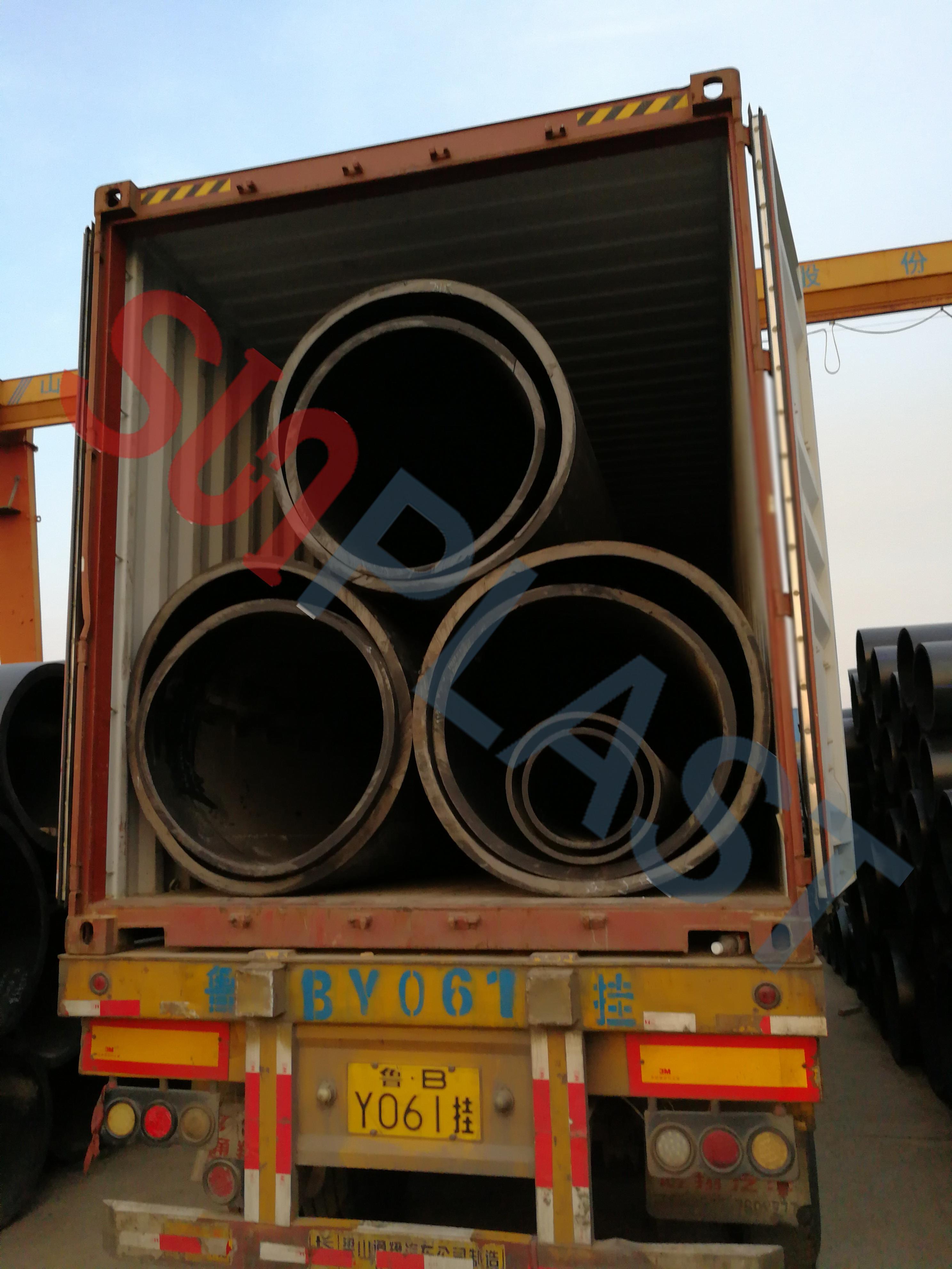 SUNPLAST DN1000 / DN1200mm HDPE Труба в Австралию